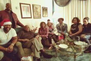 Ellarie Holiday family photo