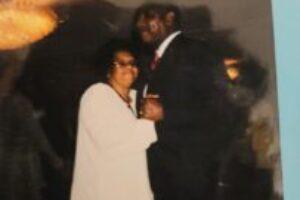 Grandma and Grandpa dancing at Jeffs Wedding