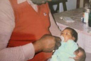 Grandpa being a Grandpa 1